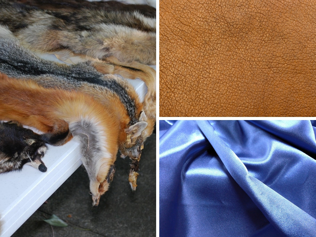The Potential Animal Cruelty/Welfare Issues With Fur, Leather, Angora, Down, Silk, & Wool Fibres, Fabrics & Clothing/Fashion
