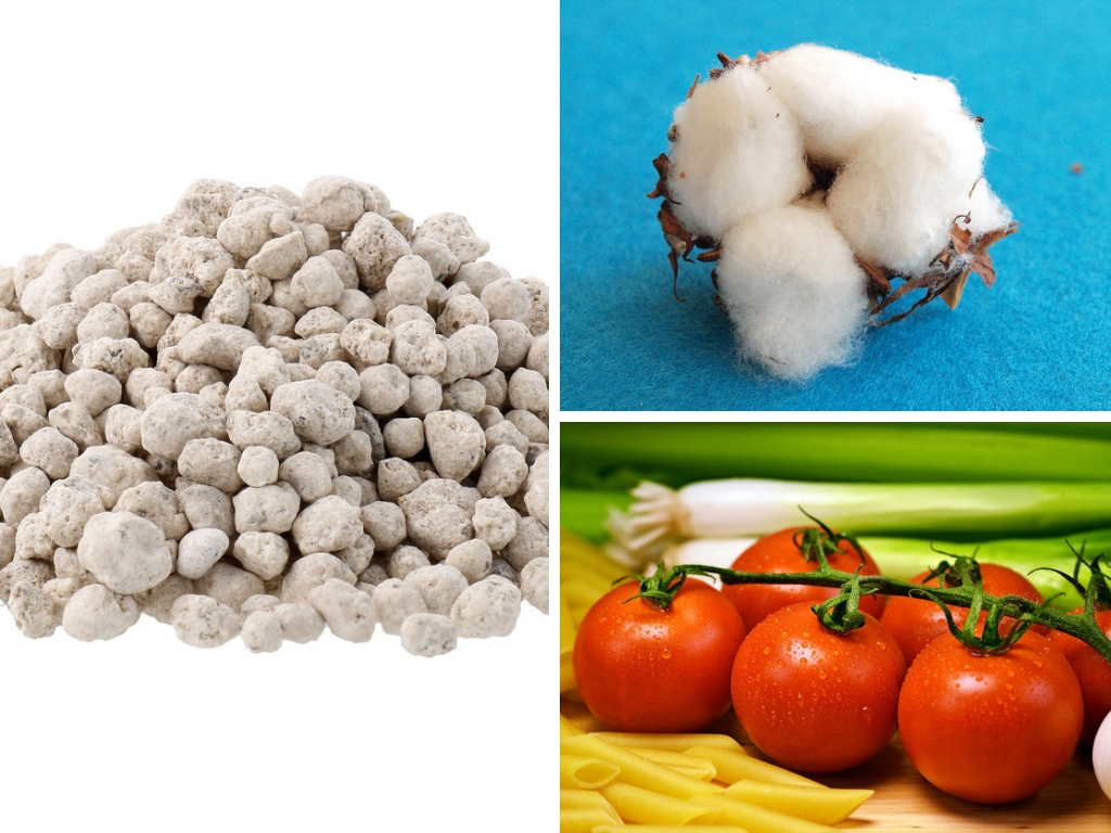How To Decrease The Fertilizer Footprint In The Foods You Eat, & Fibres You Wear